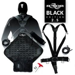 צילום של המערכת המושלמת - Razor Black Edition