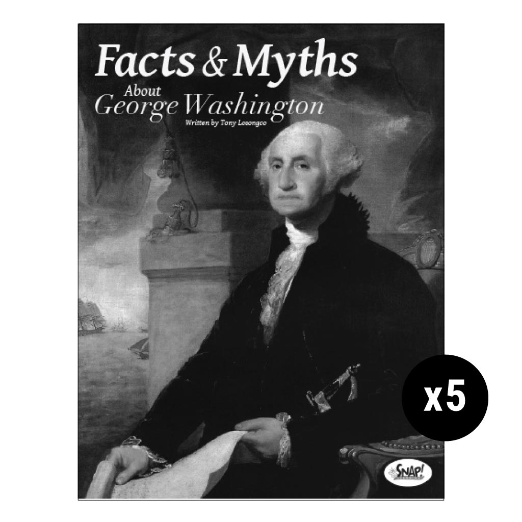 Facts And Myths About George Washington 5 Pack