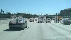 Truck,Street,Road,Overpass,Highway,Freeway,Car,Bus,Bridge,Automobile
