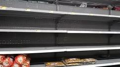 Supermarket,Shelf,Grocery Store,Aisle,empty shelves