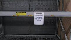 empty shelves,coronavirus