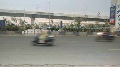 Road, Transportation, Car, Vehicle, Automobile, Freeway, Airport, Terminal, Tarmac, Asphalt, Airport Terminal, Overpass, Building, Bridge, Motorcycle