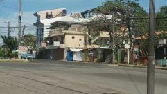 Urban, Building, Human, Person, Transportation, Vehicle, Automobile, Car, Slum, Bike, Bicycle, Motorcycle, Road, City, Town