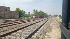 Rail, Railway, Train Track, Transportation, Train, Vehicle, Terminal, Train Station, Path, Walkway