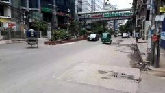 Automobile, Vehicle, Car, Transportation, Person, Road, Building, City, Urban, Town, Street, Pedestrian, Tarmac, Asphalt, Wheel