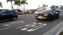 Road, Asphalt, Tarmac, Transportation, Vehicle, Automobile, Car, Intersection, Zebra Crossing, Pedestrian, Building, City, Town, Urban, Street