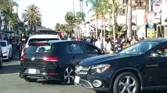Alloy Wheel, Automobile, Building, Bumper, Car, Car Show, Car Wash, Car Wheel, City, Condo, Coupe, Crowd, Downtown, Driving, Housing, Human, Machine, Neighborhood, Parking, Parking Lot, Pedestrian, People