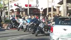 Person, Vehicle, Transportation, Automobile, Car, Motorcycle, Machine, Vespa, Moped, Motor Scooter, Street, Road, Urban, Building, Town