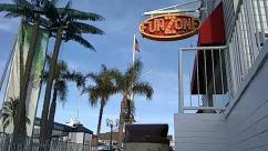 Balboa fun zone, Building, Water, Arecaceae, Plant, Palm Tree, Tree