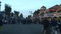 george floyd, Protest, huntington beach, Crowd, Car, Automobile, Vehicle, Urban, Bike, Building, City, Town, Road, People, Tree