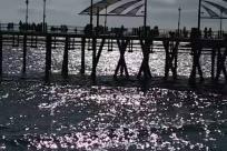 Water, Waterfront, Pier, Bridge, Building, People, Ocean, Sea, Harbor, Redondo beach