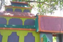 Tree, Plant, Building, Countryside, Housing, Play Area, Playground, Rural, Shelter, Bird, Amusement Park, Vegetation, Art, Zoo, Theme Park