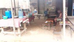 Furniture, Wood, Plywood, Table, Tabletop, Workshop, Shoe, Footwear, Urban, Room, Building, Coffee Table, Desk, Dining Table, Housing