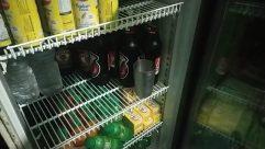 Tin, Appliance, Can, Shelf, Beverage, Drink, Alcohol, Beer, Bottle, Musical Instrument, Guitar, Beer Bottle, Soda, Refrigerator, Electric Guitar