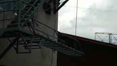 Building, Window, Skylight, Staircase, Bird, Tower, Condo, Housing, Demolition, Construction