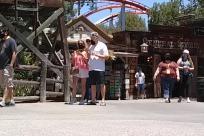 Amusement Park, Theme Park, Housing, Building, Vacation, Coaster, Roller Coaster, crowd, social distancing