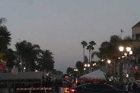 Road, Building, People, Tent, street fair, main street, street dining
