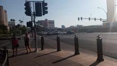 Light, Traffic Light, Road, Vehicle, Automobile, Car, Path, Intersection, Building, Town, City, Metropolis, Pavement, Sidewalk, Street