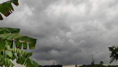Weather, Shelter, Rural, Building, Countryside, Plant, Vegetation, Symbol, Flag, Sky, Cumulus, Cloud, Field, Tower, Grassland