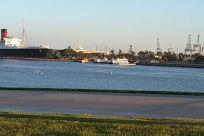 Water, Waterfront, People, Vehicle, Walking, Dock, Pier, Port, Building, Harbor, Shorts, Dating, City, Town, Footwear