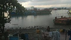 Vehicle, Watercraft, Vessel, Boat, Building, Water, Waterfront, Bird, Dock, Pier, Port, Metropolis, Town, City, Countryside