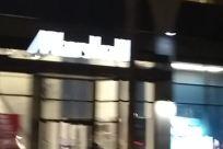 Lighting, Building, Light, Column, Pillar, City, Town, Text, Road, Street, Halo, Tower, Symbol, Night Life, Restaurant
