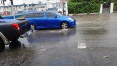 Automobile, Car, Vehicle, Tire, Puddle, Wheel, Alloy Wheel, Spoke, Road, Car Wheel, City, Building, Town, Street, Path
