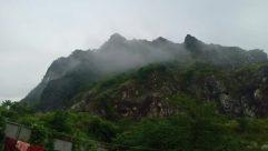 Countryside, Mountain, Hill, Building, Shelter, Rural, Mountain Range, Weather, Panoramic, Landscape, Fog, Hut, Mist, Housing, Bridge
