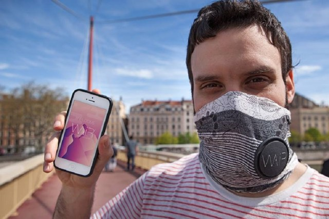 Image result for anti pollution smart scarf