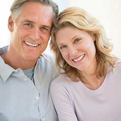Snap on Dentures is the solution to smile and eat normally again!
