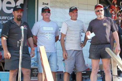 Team 10 saw Wayne Newcombe, Mike Allen, Richard Otley & Ray Carbonel take the $400 prize.