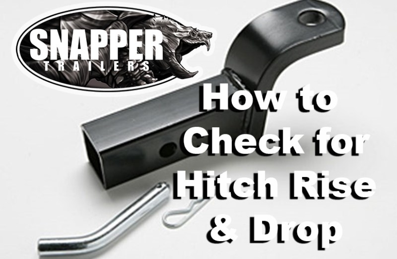 How to Measure for Trailer Hitch Rise & Drop
