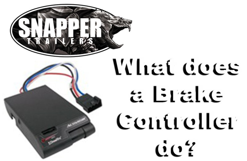 What does a brake controller do?