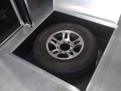 In Floor Spare Tire Compartment