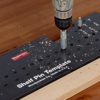 Shelf Pin Drill Guides