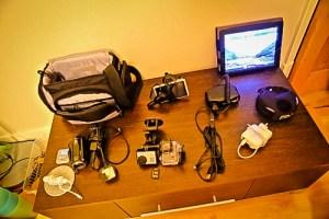 Electronics Gear taken on USA 2013 Road Trip