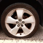 House Move - Flat tire - 1