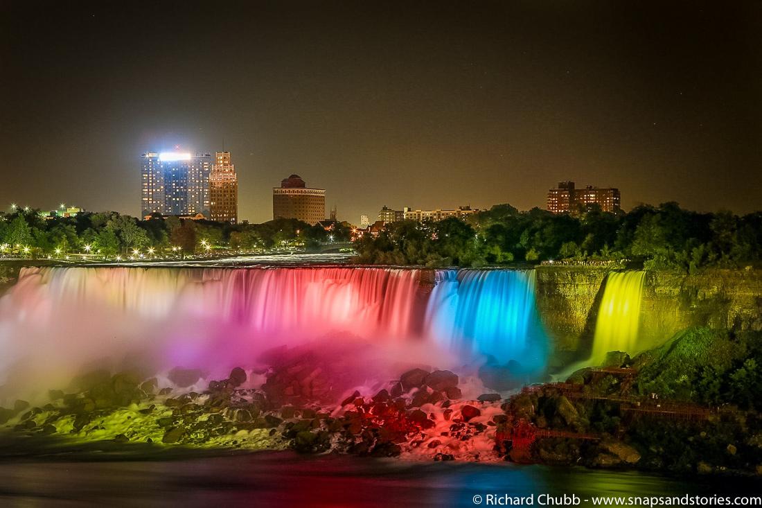 Weekly Photo Challenge H20 - Niagara Falls at Night