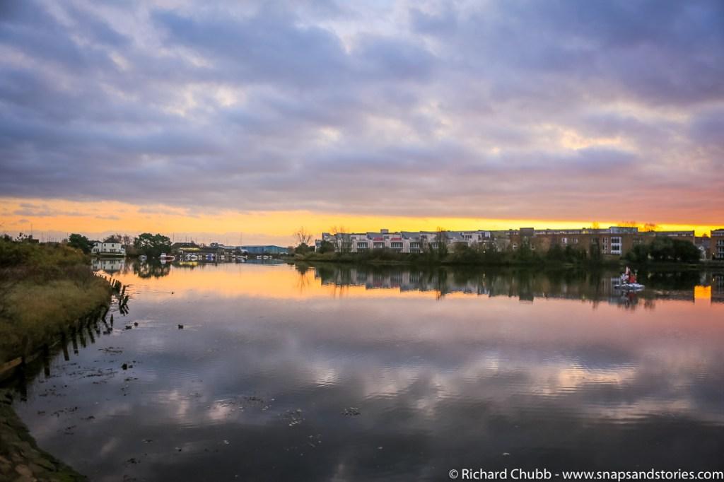 Leamington Harbour Sunset