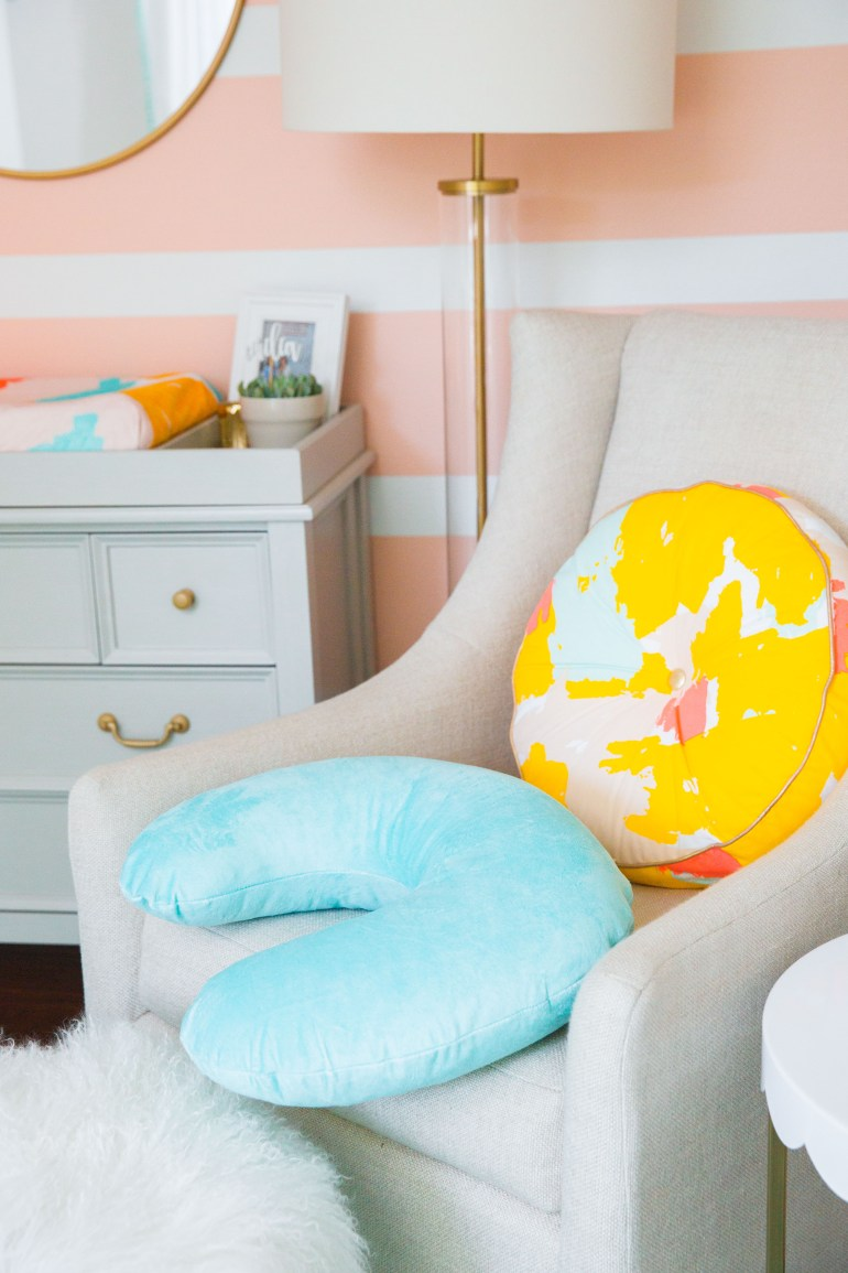 Baby Girl Nursery Bright Modern Project Nursery Oh Joy Inspired Mixed Print Snapshots and My Thoughts