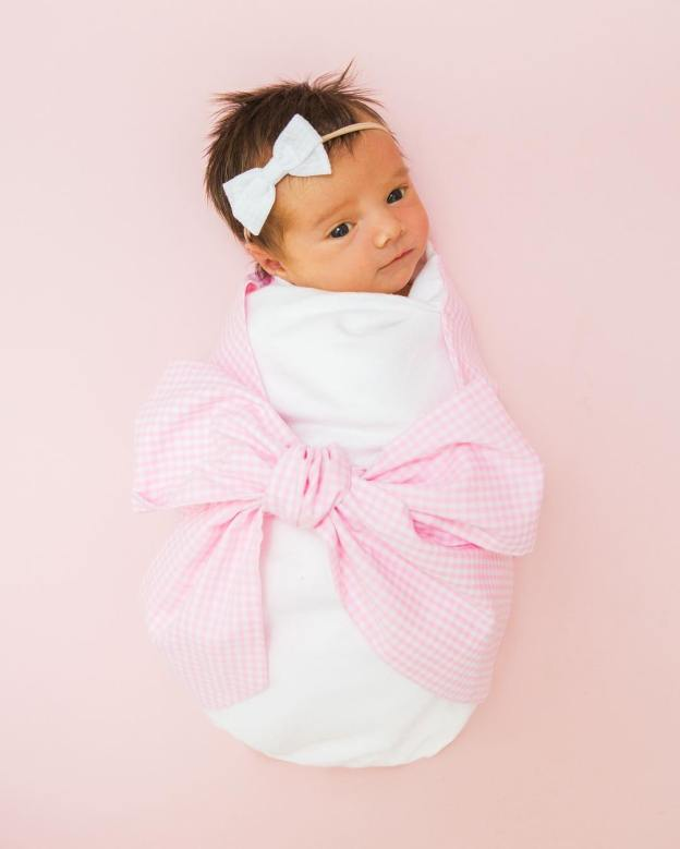 Nothing better than babes in bows  This thebeaufortbonnetcompany swaddlehellip
