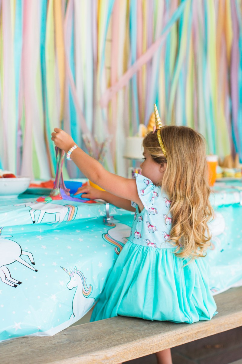 Isla's Unicorn Third Birthday Party