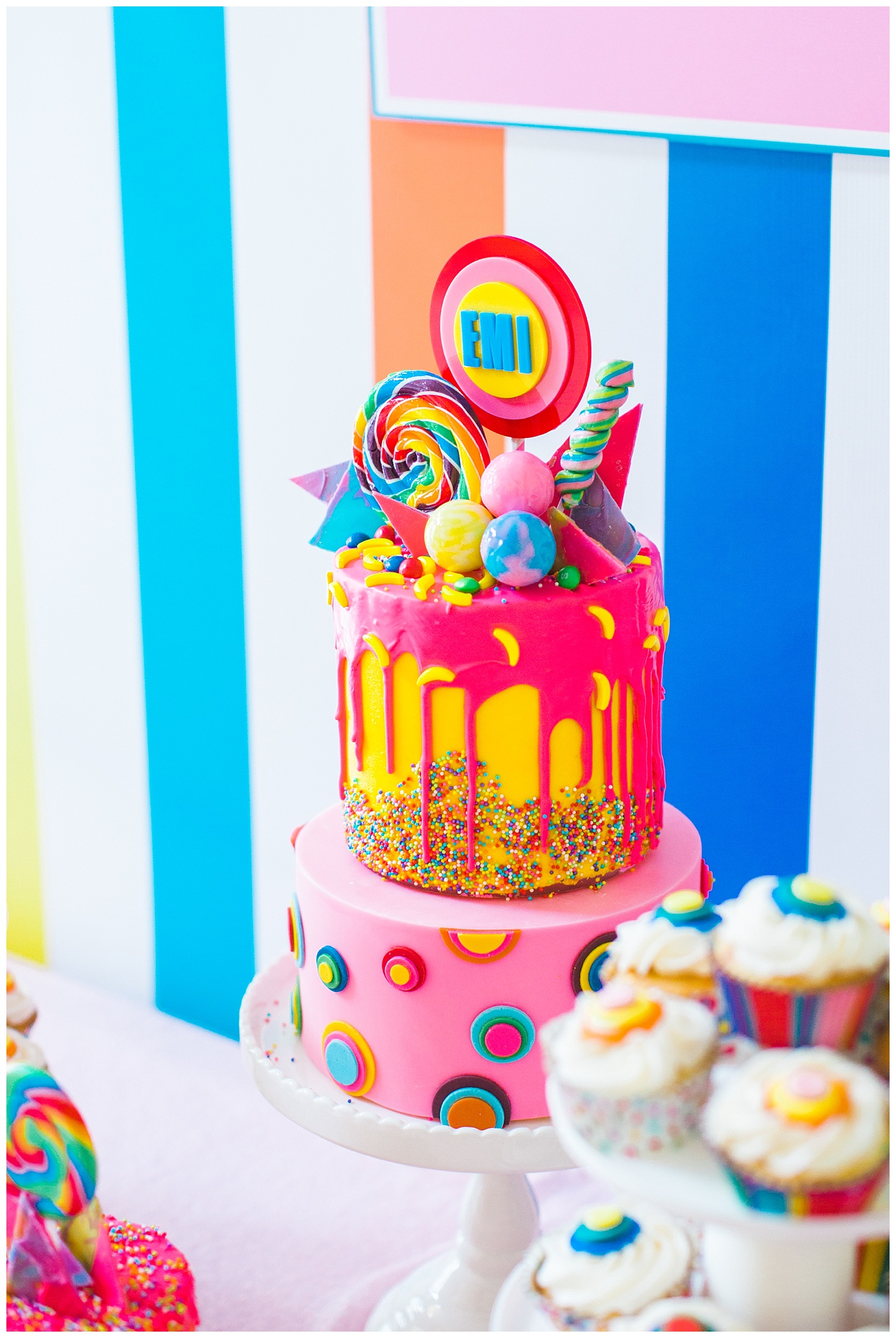 Emilias Sweet Shop A Dylans Candy Bar Themed First Birthday Party