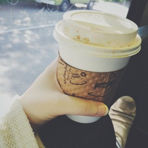 coffee Seattle on bus