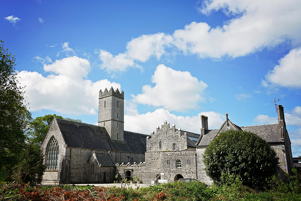 black abbey Adare Ireland