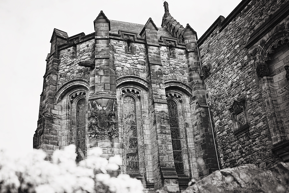 edinburgh castle chapel
