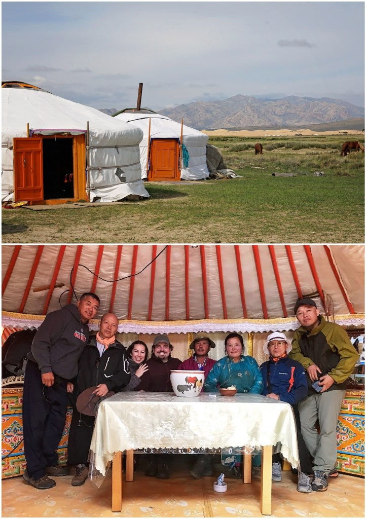 mongolia yurts