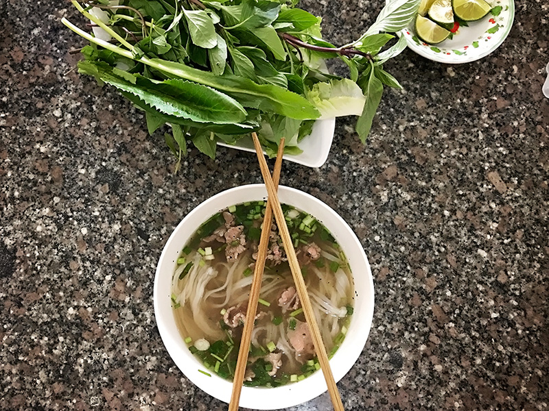 pho in vietnam - saigon