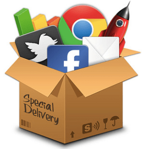 social icons special delivery