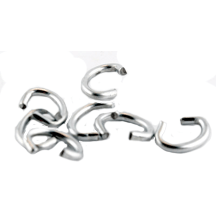 TAG FASTENERS OR WIRE CLIPS FOR CAGE TRAPS-The Snare Shop